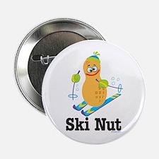 Ski Nut Button