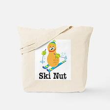 Ski Nut Tote Bag