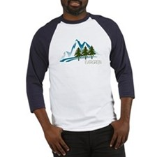 EvergreenMountainTest Baseball Jersey