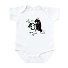 Black Live Feeding Infant Bodysuit