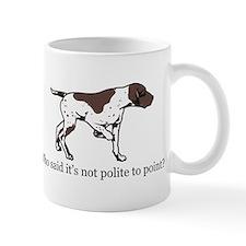 Who Said it's Not Polite to P Mug