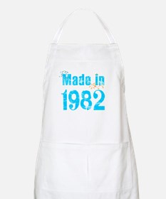 Frest blue made in 1982 BBQ Apron