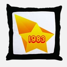 All Star 1983 Throw Pillow