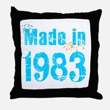 Made in 1983 Throw Pillow