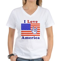ILY America Flag Shirt