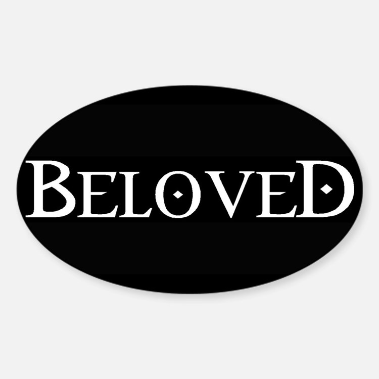 Beloved Oval Decal