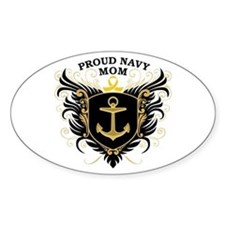 Proud Navy Mom Decal
