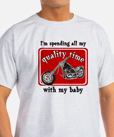Biker quality time T-Shirt