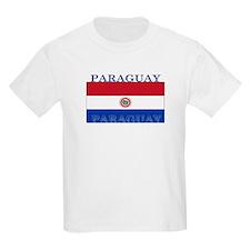Paraguay Paraguayan Flag Kids T-Shirt