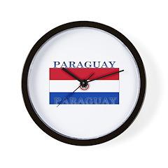 Paraguay Paraguayan Flag Wall Clock