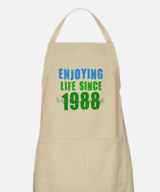 Enjoying Life Since 1988 BBQ Apron