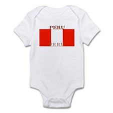 Peru Peruvian Flag Infant Creeper