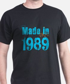 Fresh Blue Made in 1989 T-Shirt
