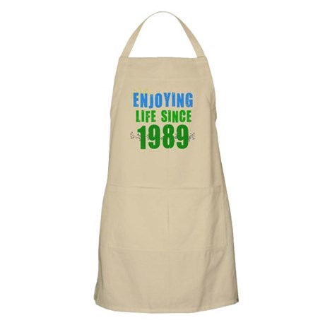 Enjoying Life Since 1989 BBQ Apron