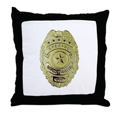 Special Investigator Throw Pillow