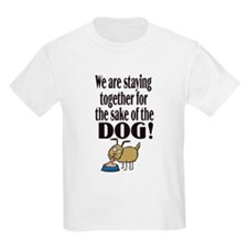 For the Sake of the Dog Kids T-Shirt