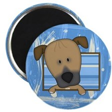 Cartoon Ridgeback Magnet