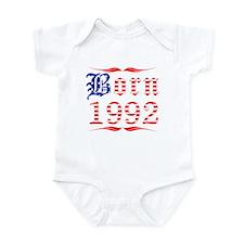 Born All American 1992 Infant Bodysuit