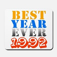 Best Year Ever 1992 Mousepad