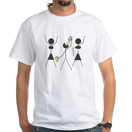 Professional College Student White T-Shirt