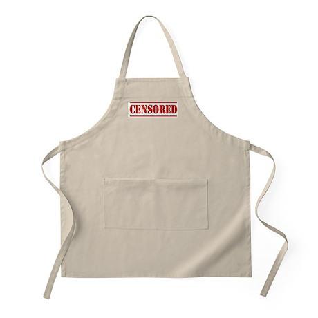 Censored BBQ Apron