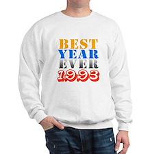 Best Year Ever 1993 Sweatshirt