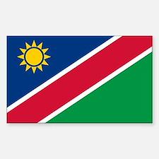 Flag of Namibia Sticker (Rectangle)