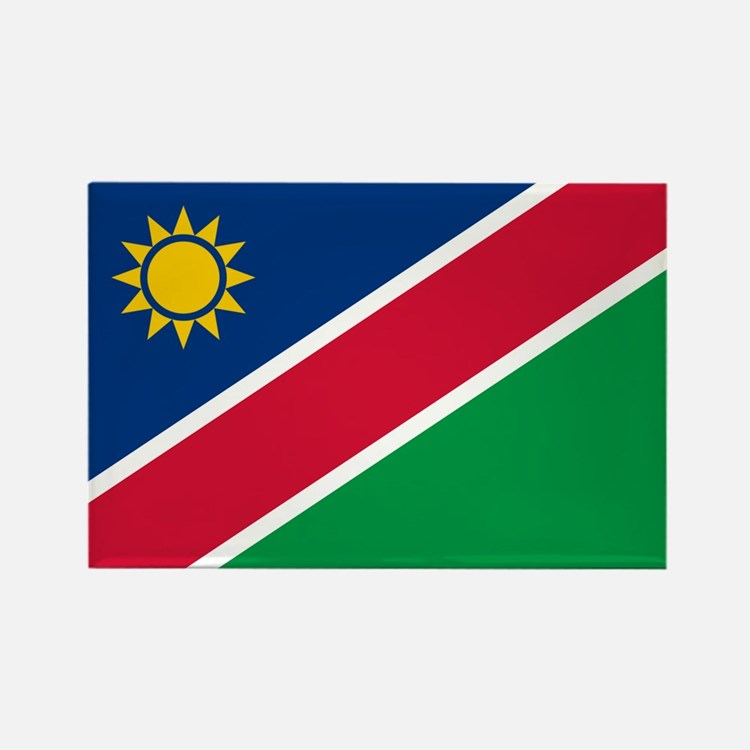 Flag of Namibia Rectangle Magnet