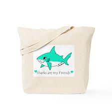 Shark Friend Tote Bag