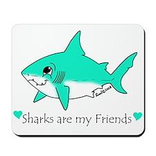 Shark Friend Mousepad