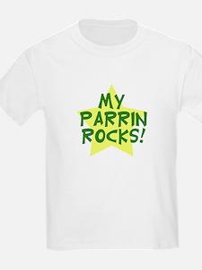 My Parrin Rocks (Green) T-Shirt