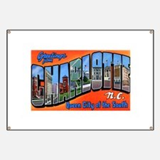 Charlotte North Carolina Gree Banner