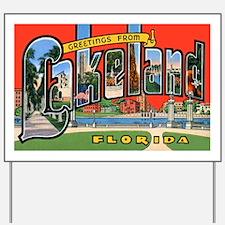 Lakeland Florida Greetings Yard Sign