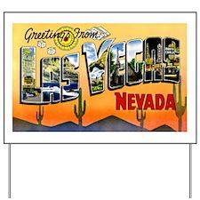 Las Vegas Nevada Greetings Yard Sign