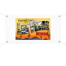 Las Vegas Nevada Greetings Banner