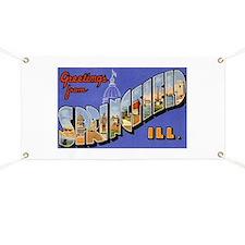 Springfield Illinois Greeting Banner