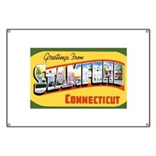 Stamford Connecticut Greeting Banner