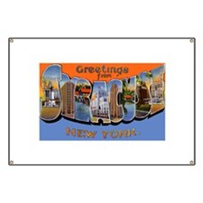 Syracuse New York Greetings Banner