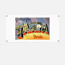Tampa Florida Greetings Banner