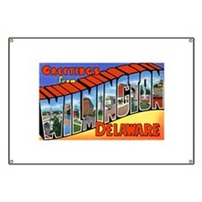 Wilmington Delaware Greetings Banner