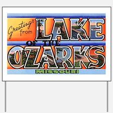 Lake of the Ozarks Missouri Yard Sign