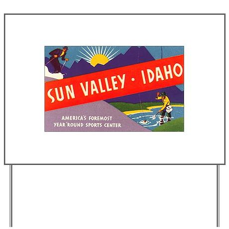 Sun Valley Idaho Yard Sign