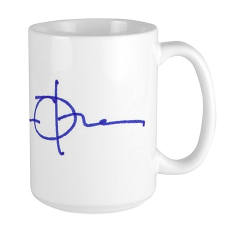 Obama signature series Large Mug