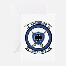 VMFA 212 Lancers Greeting Cards (Pk of 10)