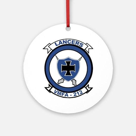 VMFA 212 Lancers Ornament (Round)