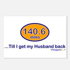140.6 Husband Postcards (Package of 8)