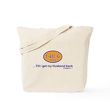 140.6 Husband Tote Bag