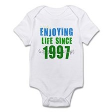 Enjoying Life Since 1997 Infant Bodysuit