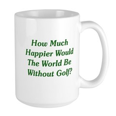 World Without Golf Mug