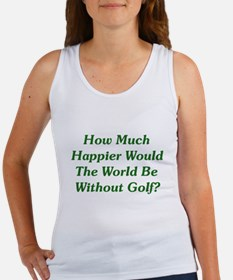 World Without Golf Women's Tank Top